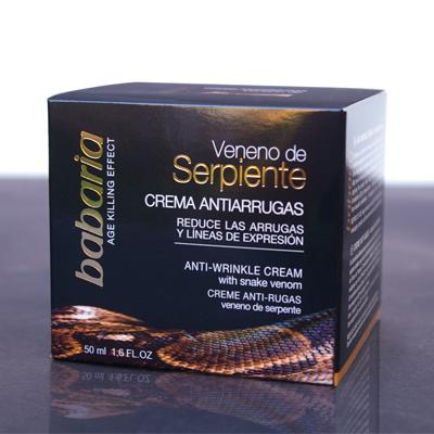 Kem chống lão hóa da -SNAKE VENOM, 100% chiết suất từ thiên nhiên, Làm giảm nếp nhăn trên trán, vết chân chim trên khuân mặt rõ rệt - Nhập khẩu từ Châu Âu